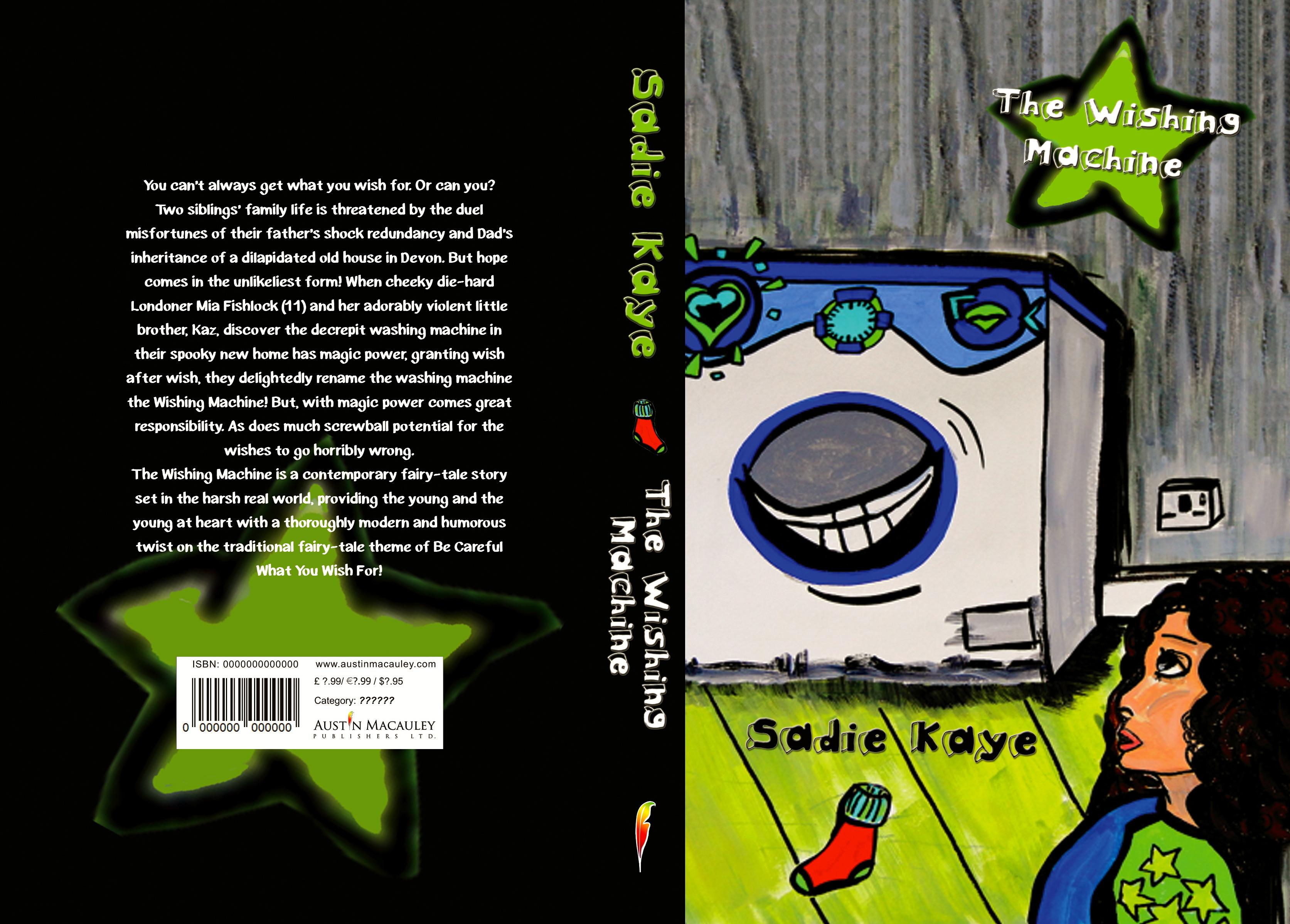 Sadie Kaye - Full Cover Spread
