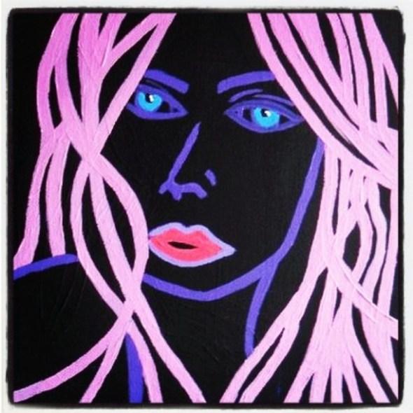 Neon Woman by Charlotte Farhan