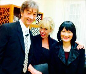 Sadie, Jonathan Douglas and Mary Wu (Liszt's Portrait)