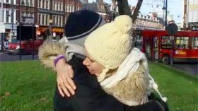 Sadie the Hoodie Hugger (Sky News)