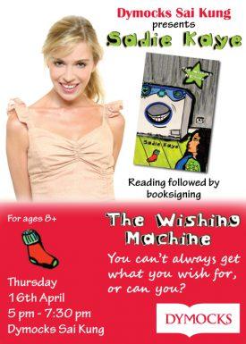Sadie Kaye Dymocks Book Signing Event Poster