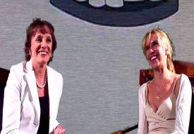 Sadie Kaye and Esther Rantzen, CSJ Awards (Channel 4)