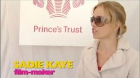 Sadie Kaye, The Prince's Trust Celebrate Success Awards 2013 (Sky TV)