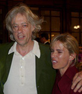 Sadie Kaye and Sir Bob Geldof