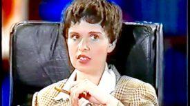 Sadie Kaye plays E, Stripped Off (ITV)